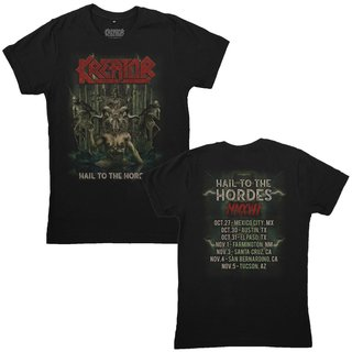 Kreator - Hail To The Hordes - Not American Tour 2017 [Camiseta Importada]
