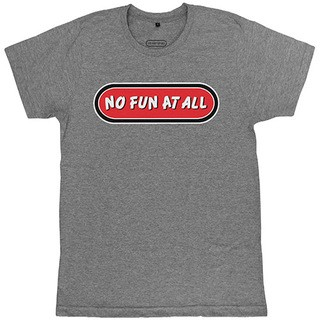 No Fun At All - Logo [Cinza Mescla Médio]