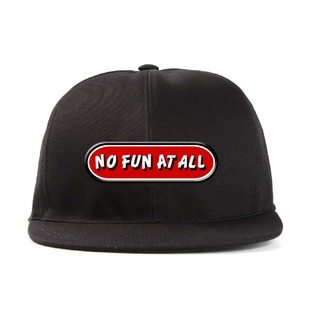 No Fun At All - Logo + Adesivo [Boné]