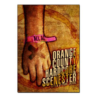 Orange County Hardcore Scenester - [DVD]