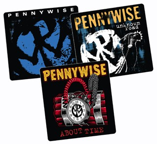 Pennywise - Pack 3 Adesivos