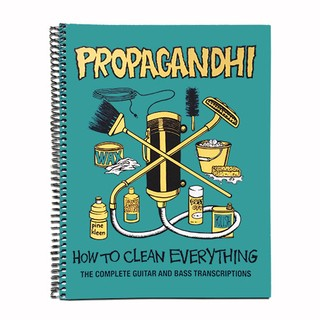 Propagandhi ‎– How To Clean Everything [Livro de Tablaturas]