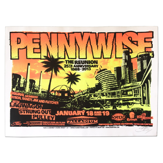 Pennywise - The Reunion 25TH ANNIVERSARY 1988-2013 [Poster Importado]
