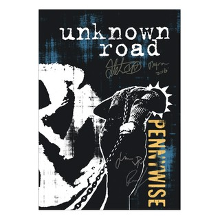 Pennywise - Unknown Road Autografado [Poster em silk screen]
