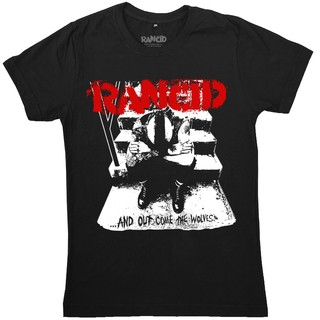 Rancid - ...And Out Come The Wolves + Adesivo [Camiseta]