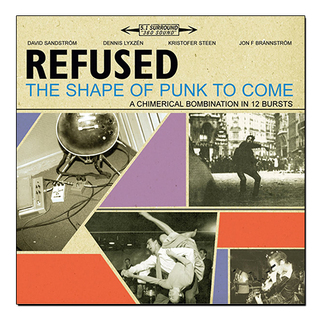 Refused - The Shape Of Punk To Come [2xLPs + 1xCD + 1xDVD]