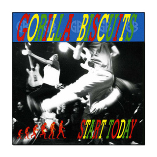Gorilla Biscuits - Start Today - Ed. Limitada [LP]