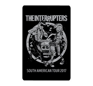 THE INTERRUPTERS - South America Tour 2017 [Adesivo]