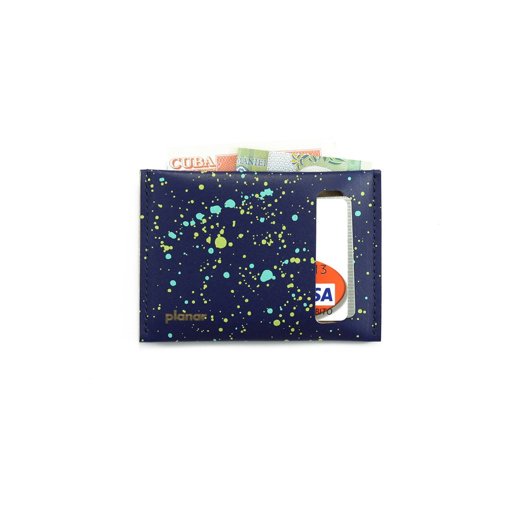 S Wallet Cosmos Blue