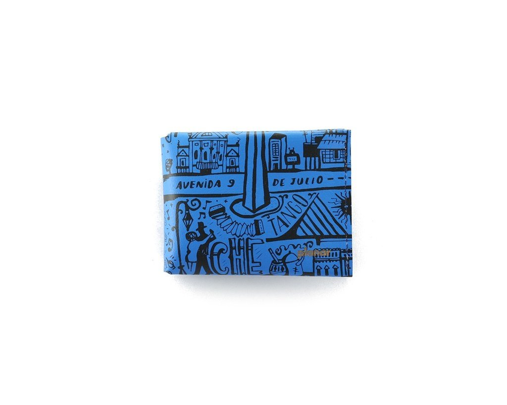M Wallet BA Blue on internet