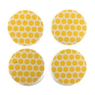 Coasters Dots Yellow