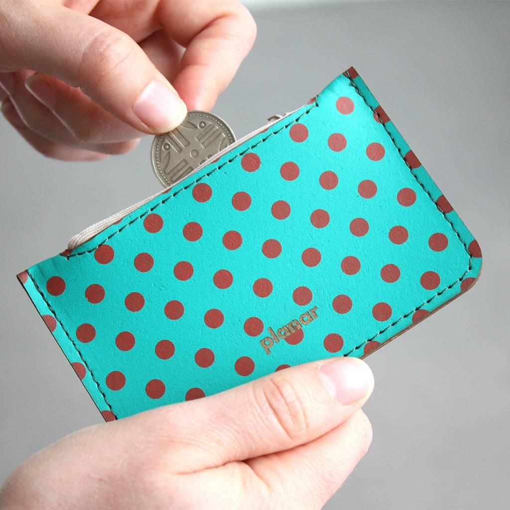 Coin Case Dots Red - buy online