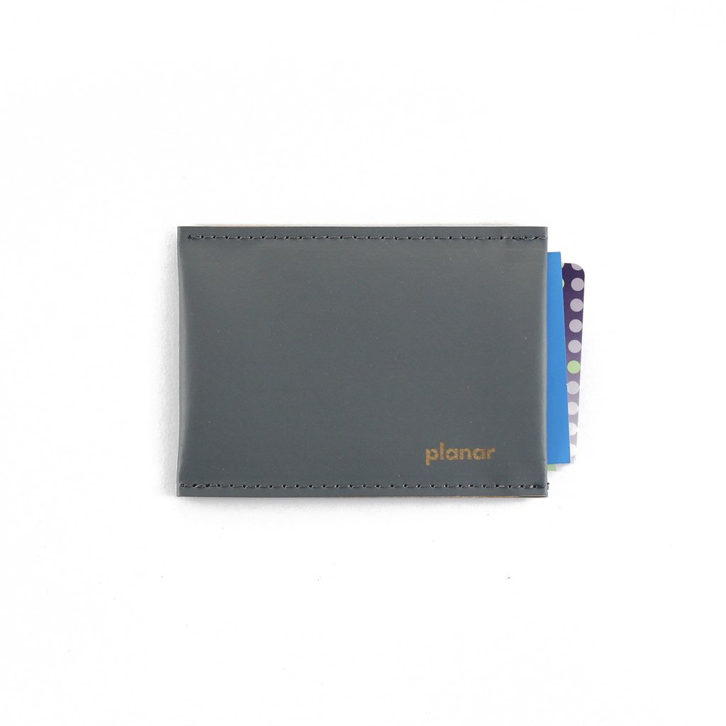 XS Card Holder Solid Grey on internet
