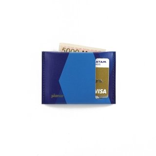 S Wallet Tones Blue