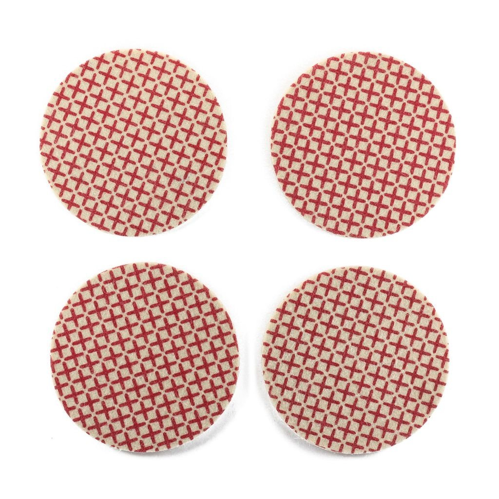 Coasters Cross Dark Red