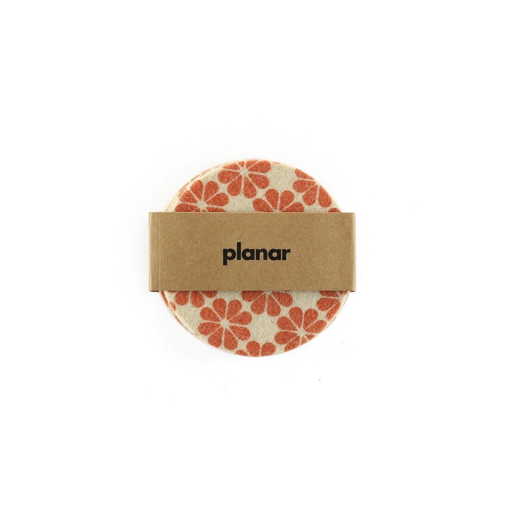 Coasters Flower Orange - buy online