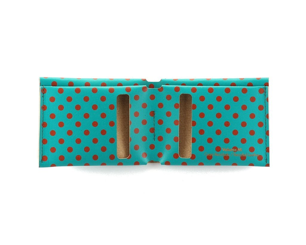 M Wallet Dots Red - buy online