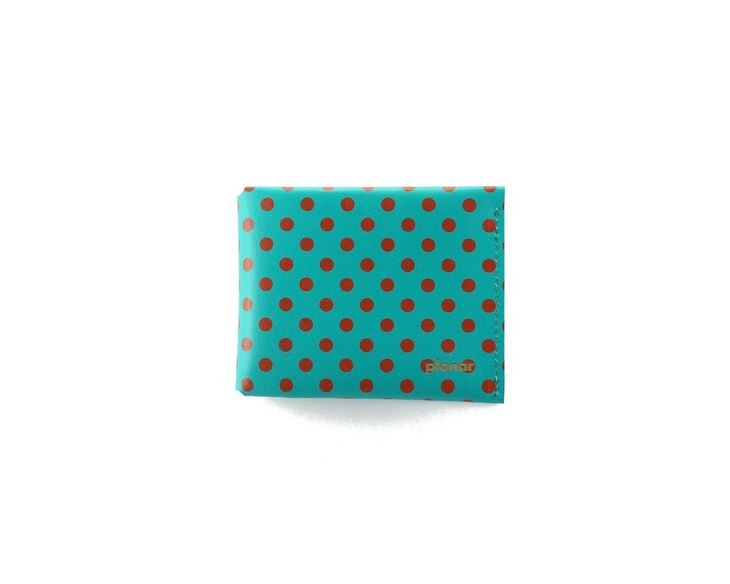 M Wallet Dots Red on internet