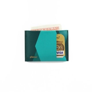 S Wallet Tones Green