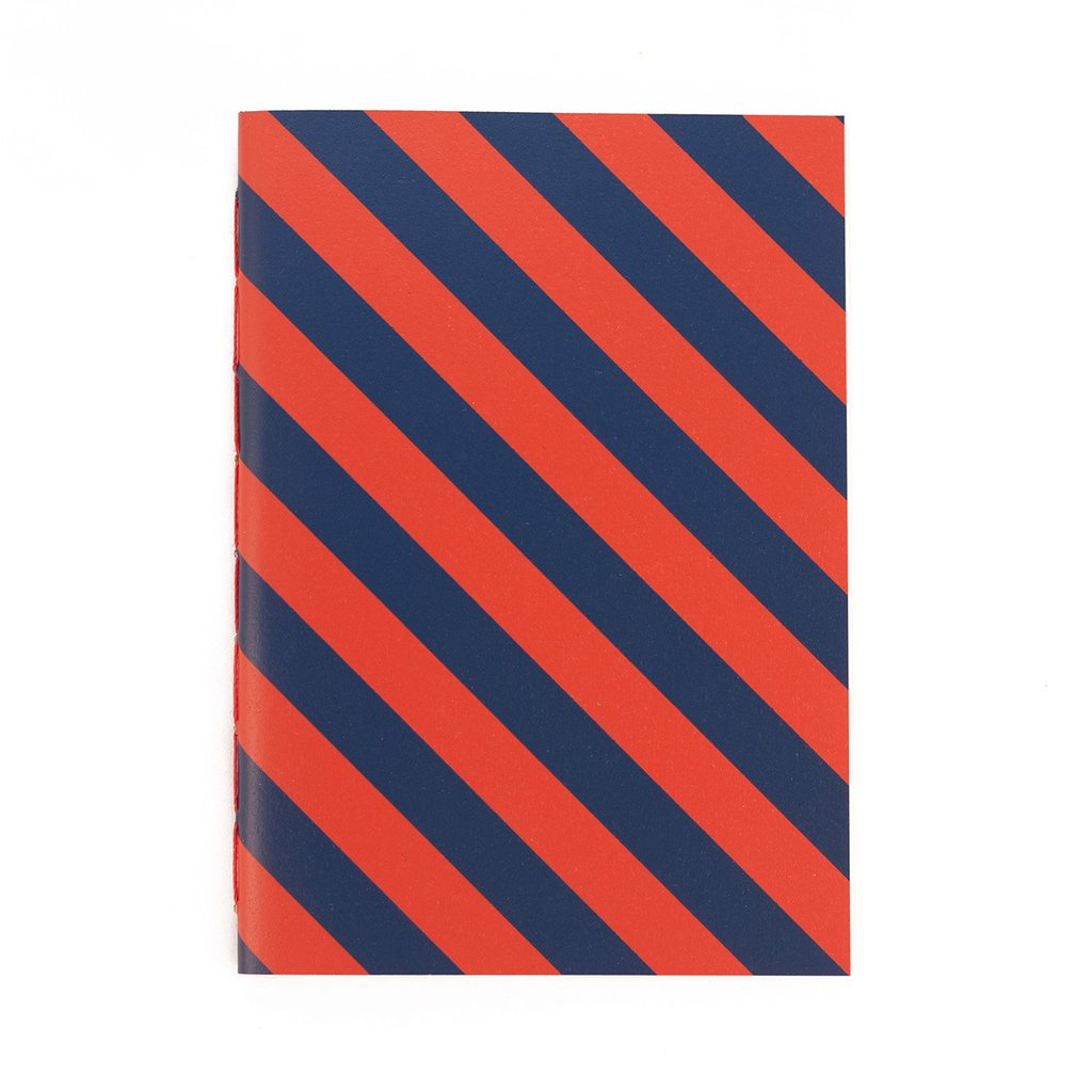 A5 Notebook Stripes RB on internet