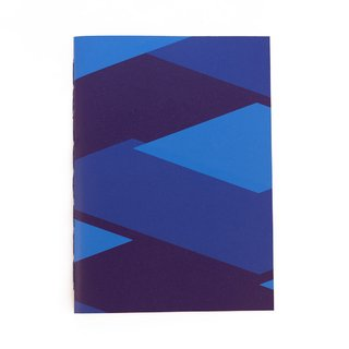 A5 Notebook Tones Blue