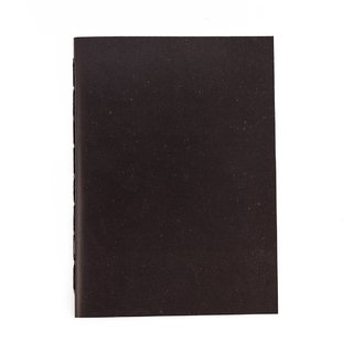 A5 Notebook Solid Black