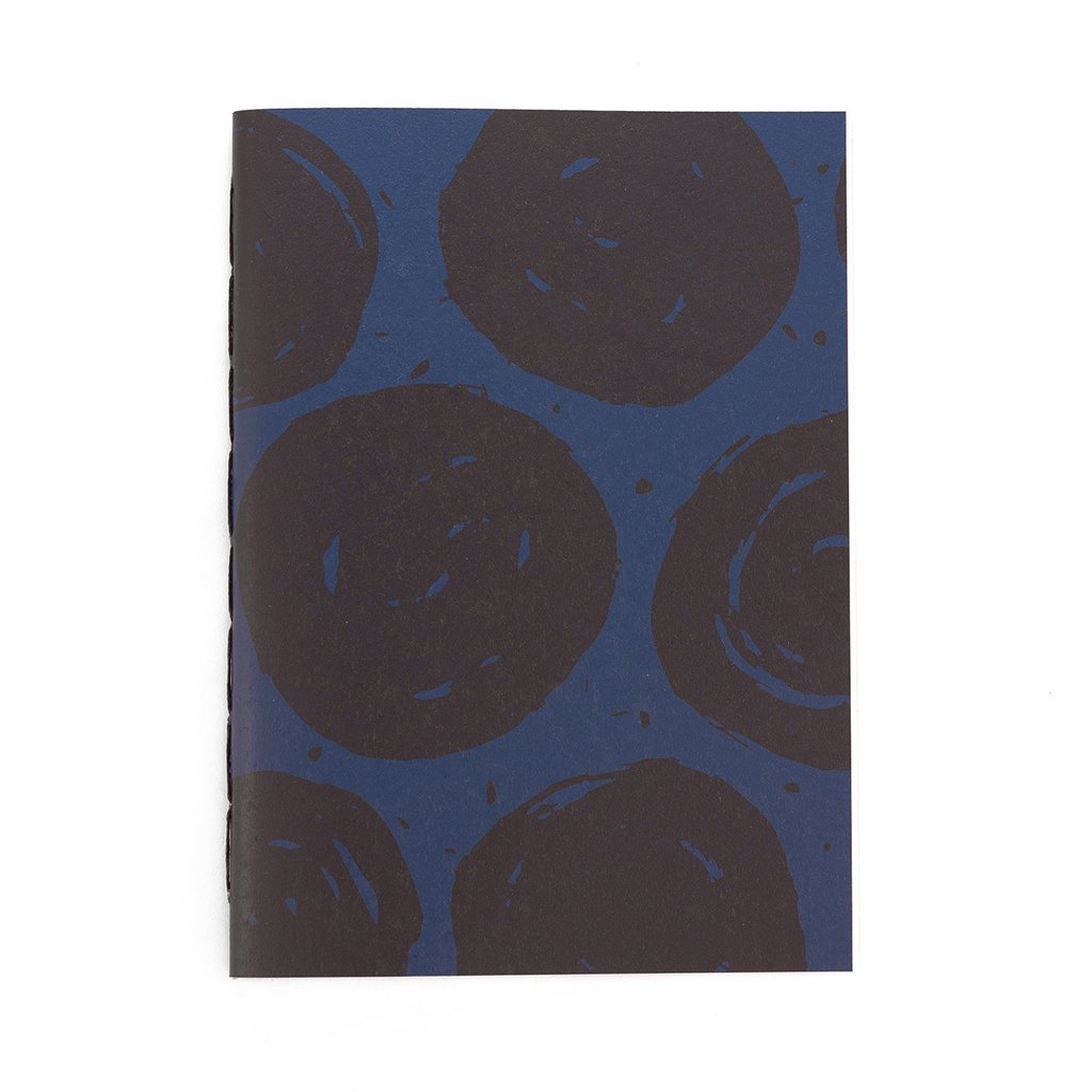 A5 Notebook Dots Blue