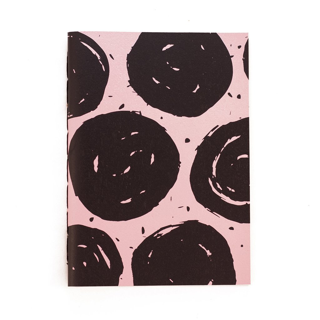A5 Notebook Dots Pink