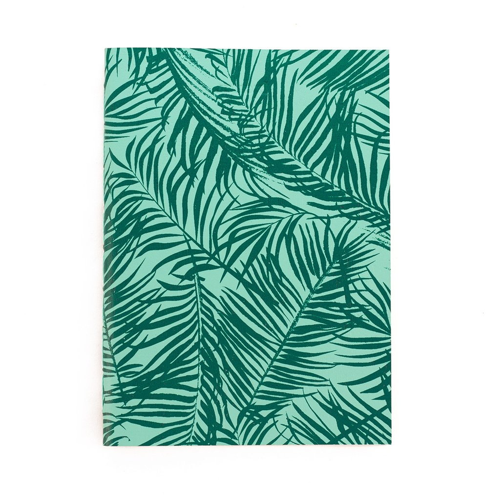 A5 Notebook Forest Green