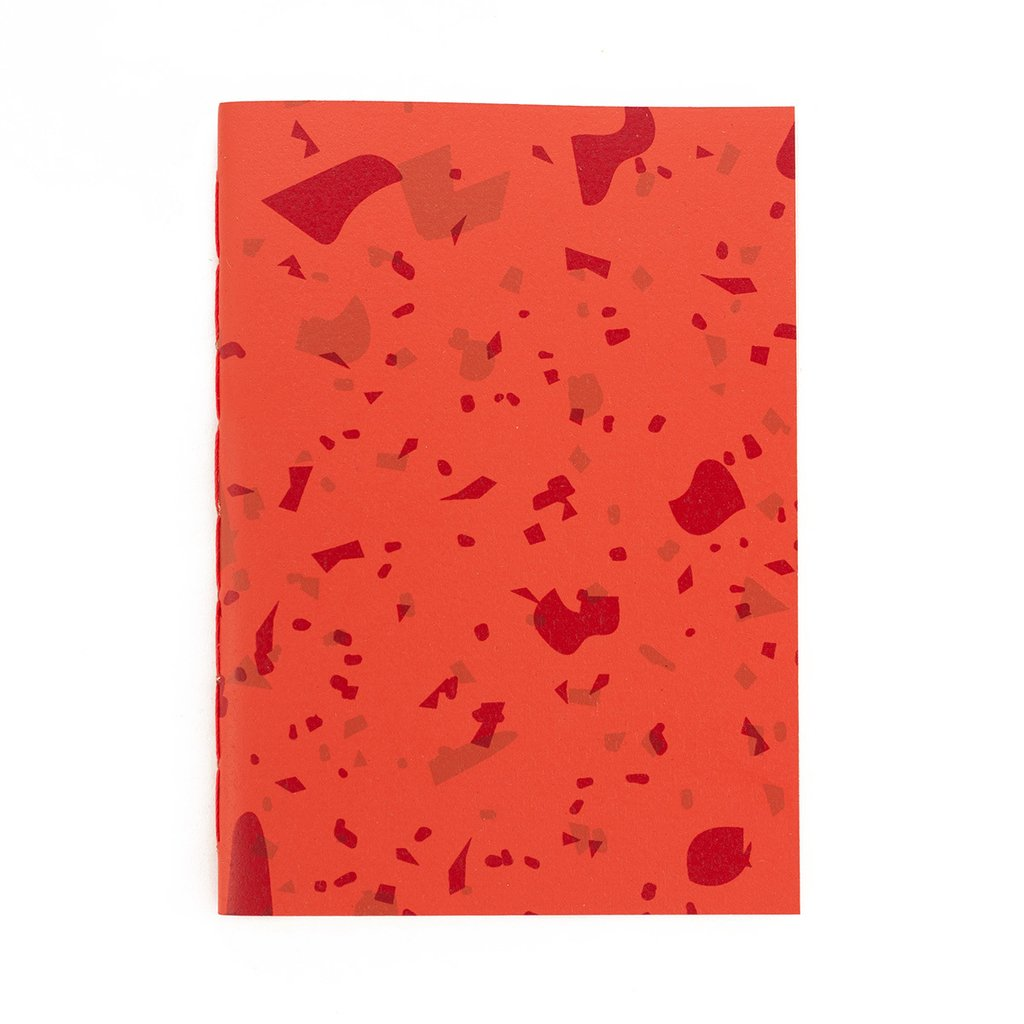 A5 Notebook Celebration Red