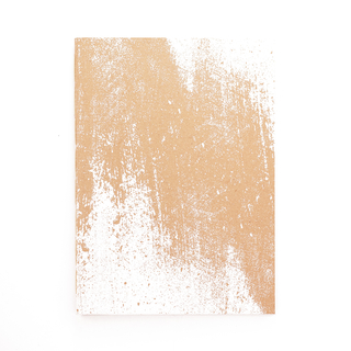 A5 Notebook Strokes White