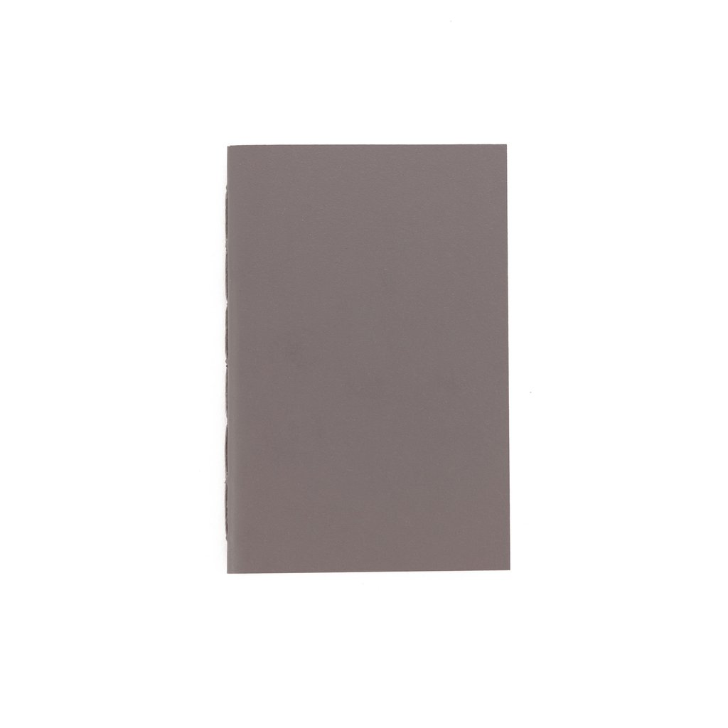 A6 Notebook Solid Grey