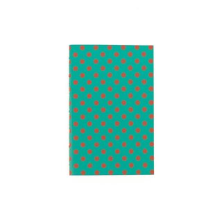 A6 Notebook Dots Red
