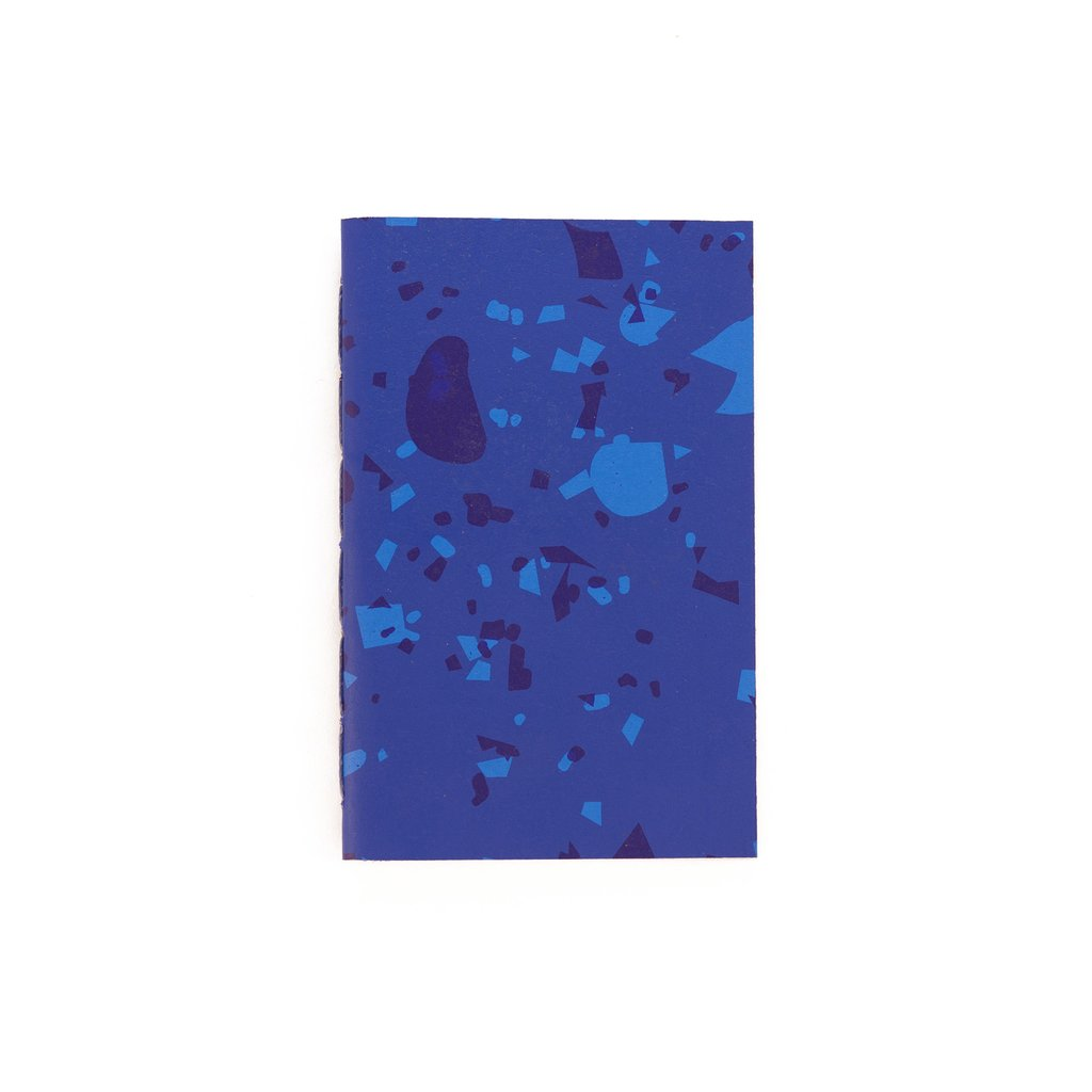A6 Notebook Celebration Blue