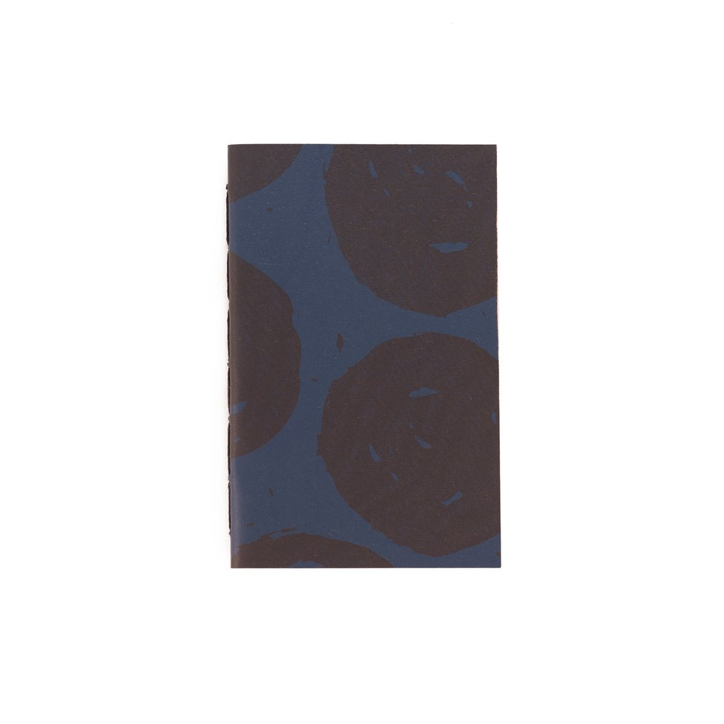 A6 Notebook Dots Blue
