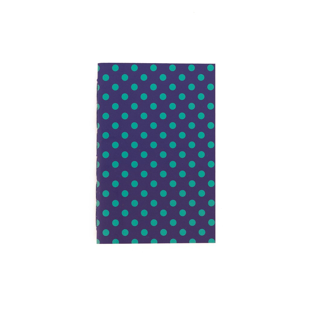 A6 Notebook Dots Green - buy online