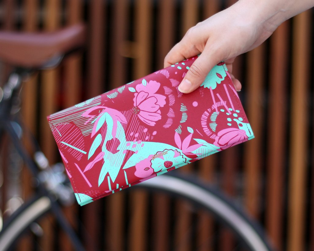 L Wallet Amsterdam Pink