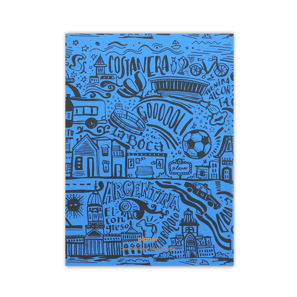 A5 Notebook BA Blue - buy online