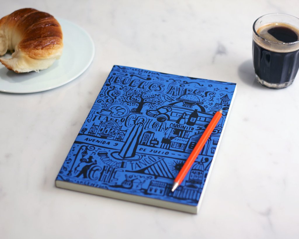 A5 Notebook BA Blue