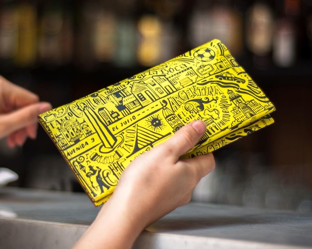 L Wallet BA Yellow