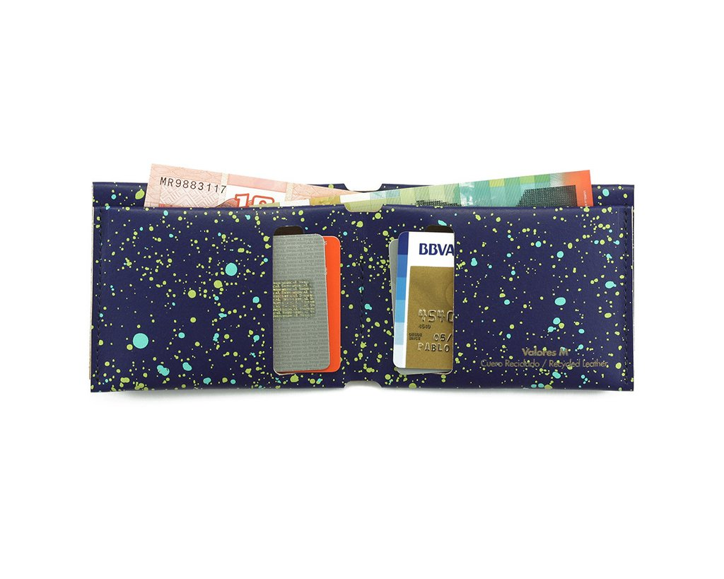 M Wallet Cosmos Blue