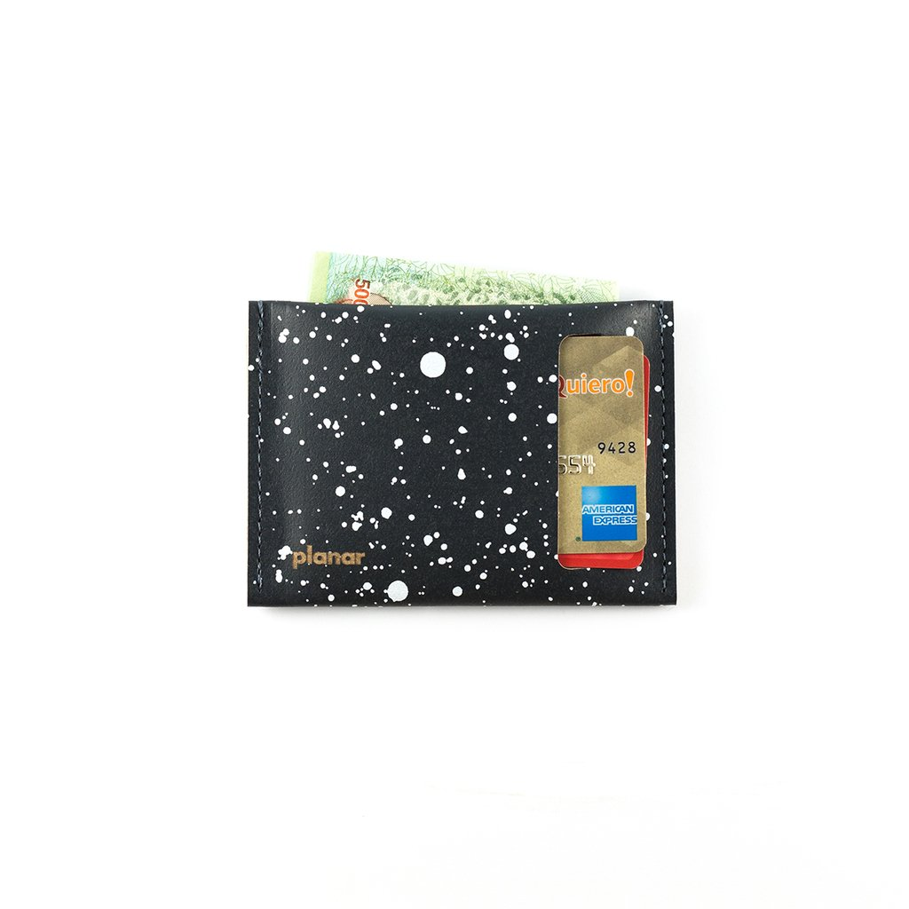 S Wallet Cosmos White