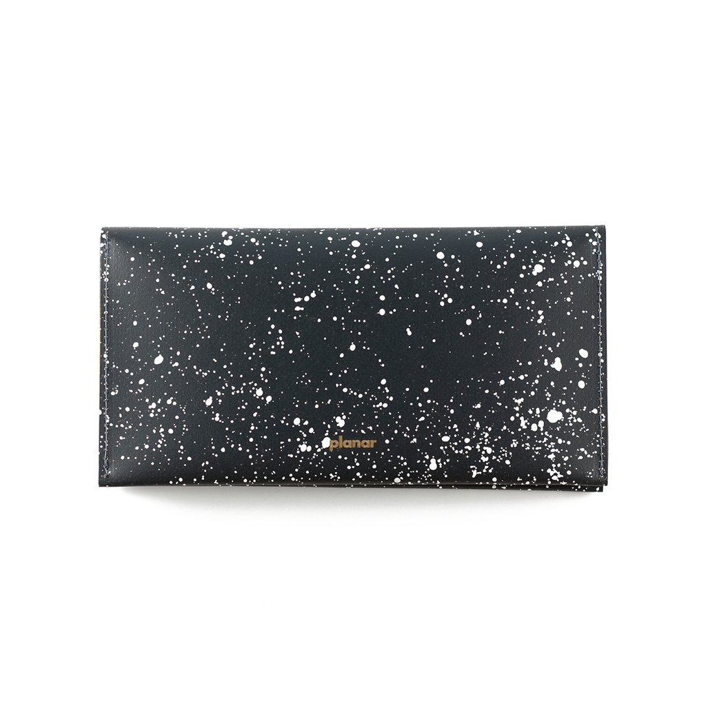 L Wallet Cosmos White
