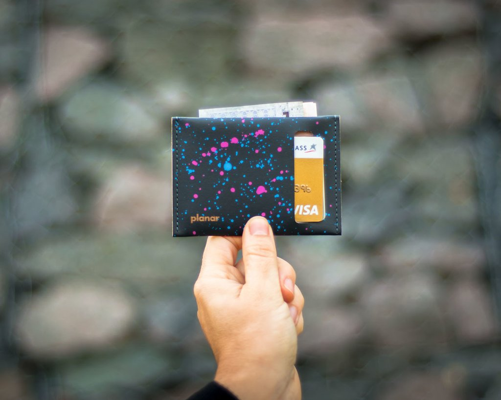 S Wallet Cosmos Black