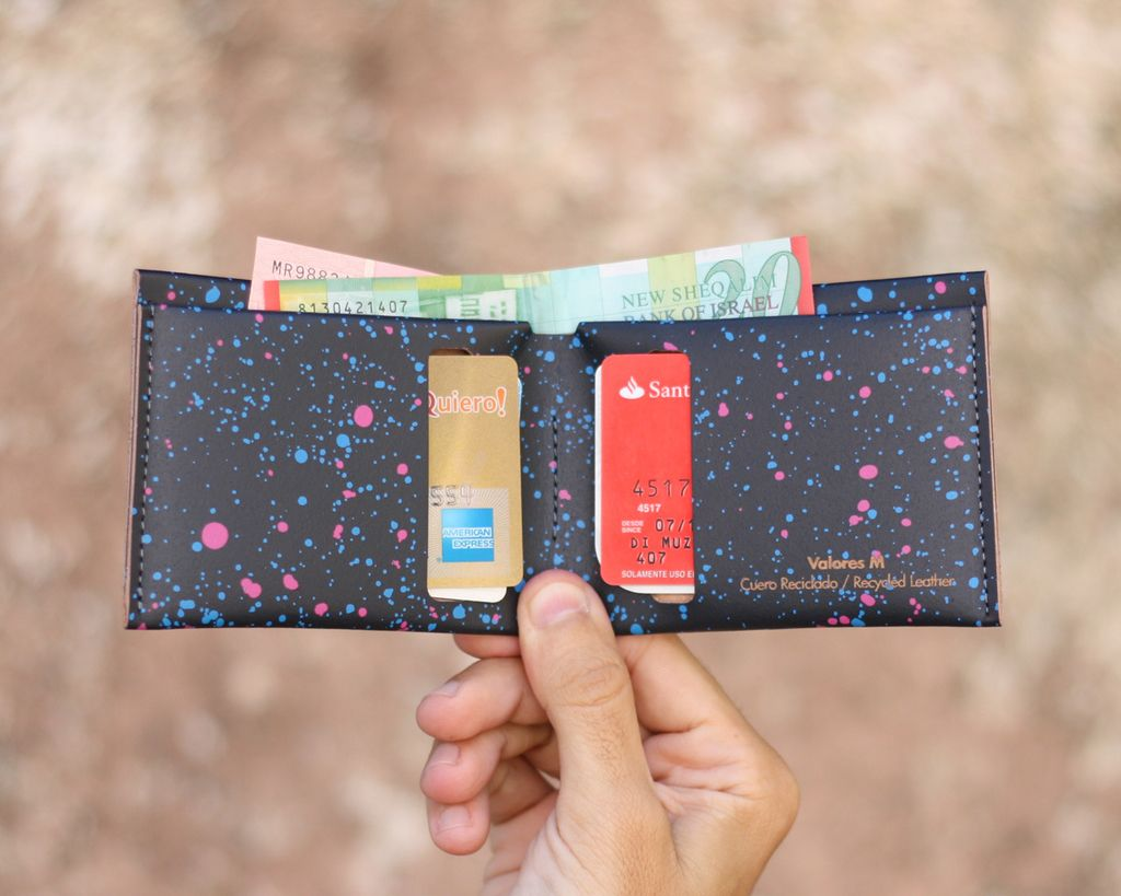 M Wallet Cosmos Black