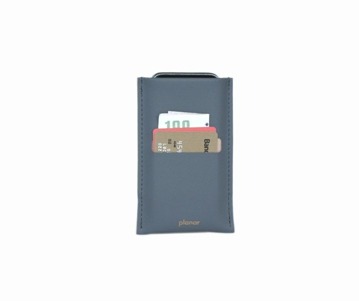 iS Smartphone Sleeve Solid Grey