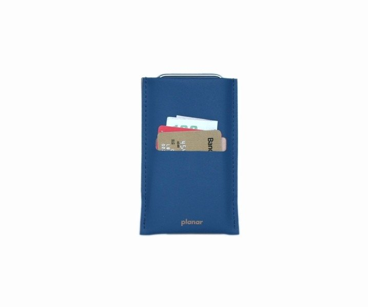 iS Smartphone Sleeve Solid Blue