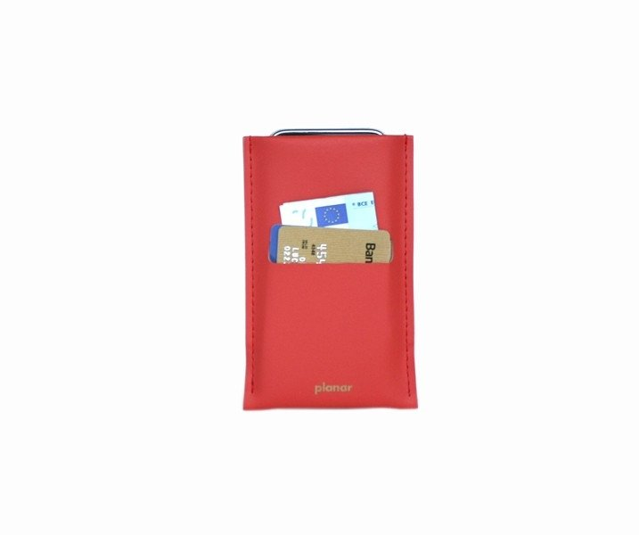iS Smartphone Sleeve Solid Red