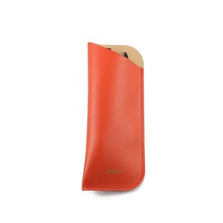 Glasses Sleeve Solid Red