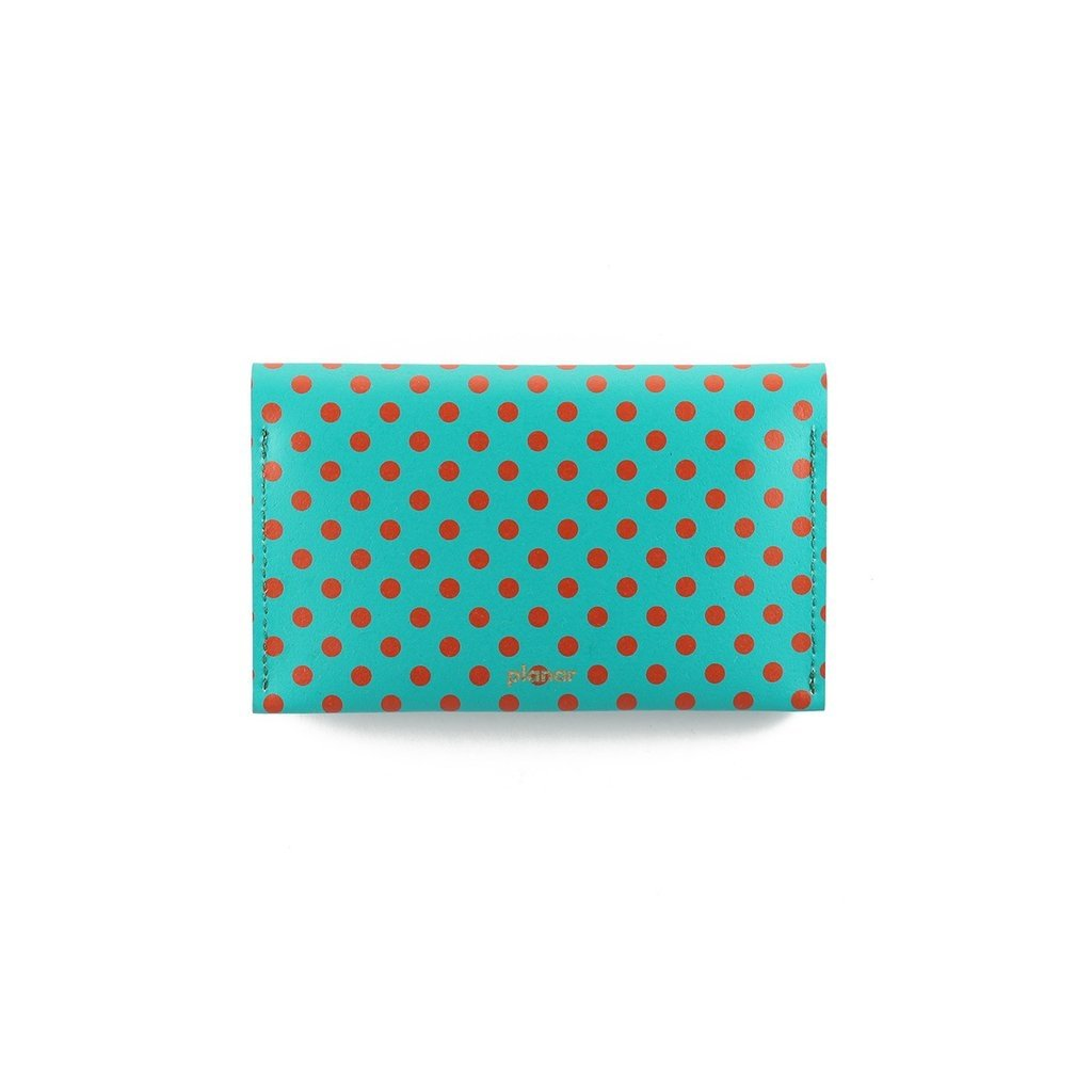 P Wallet Dots Red on internet